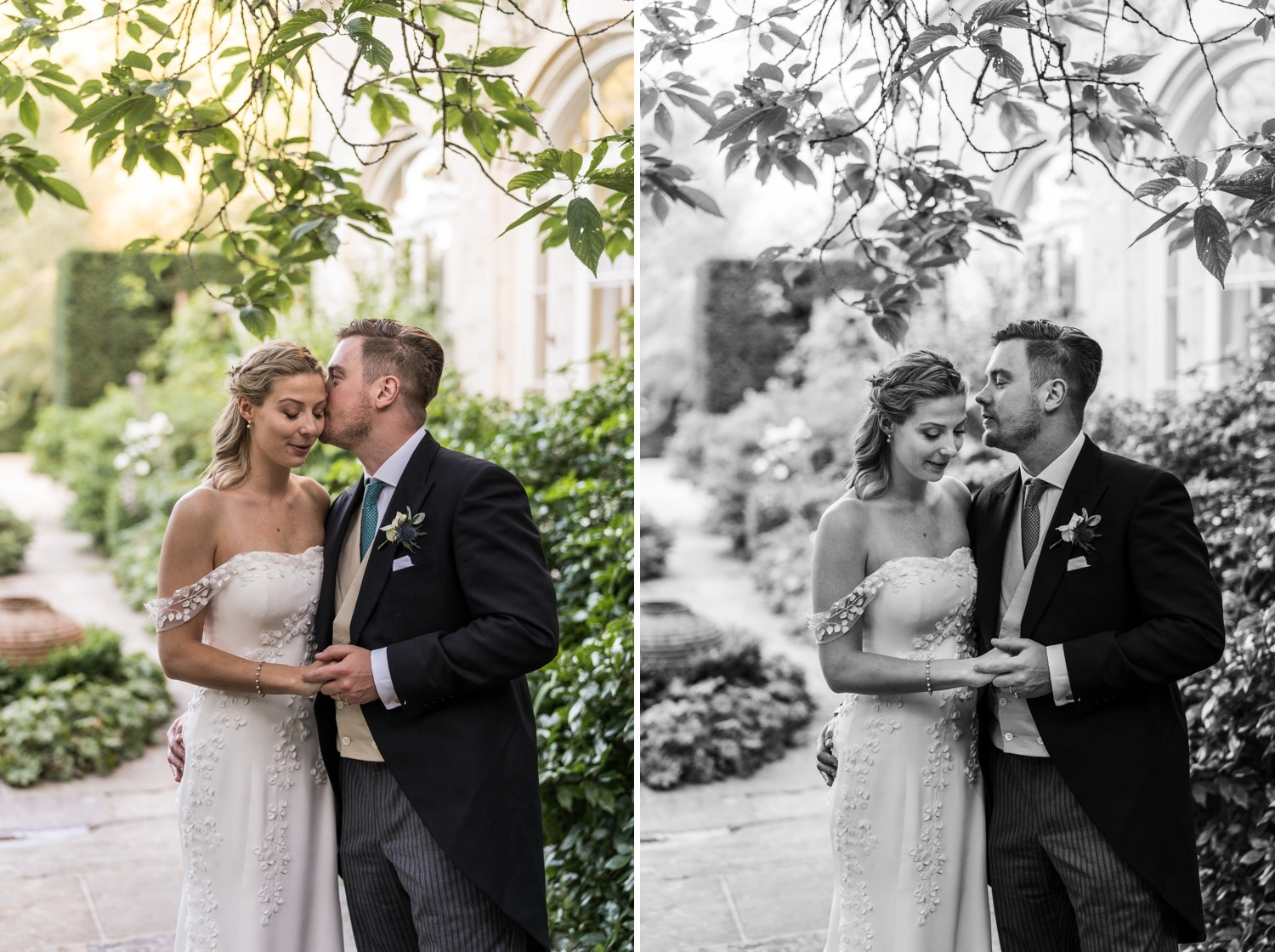Cotswold wedding photography, bride and groom portraits