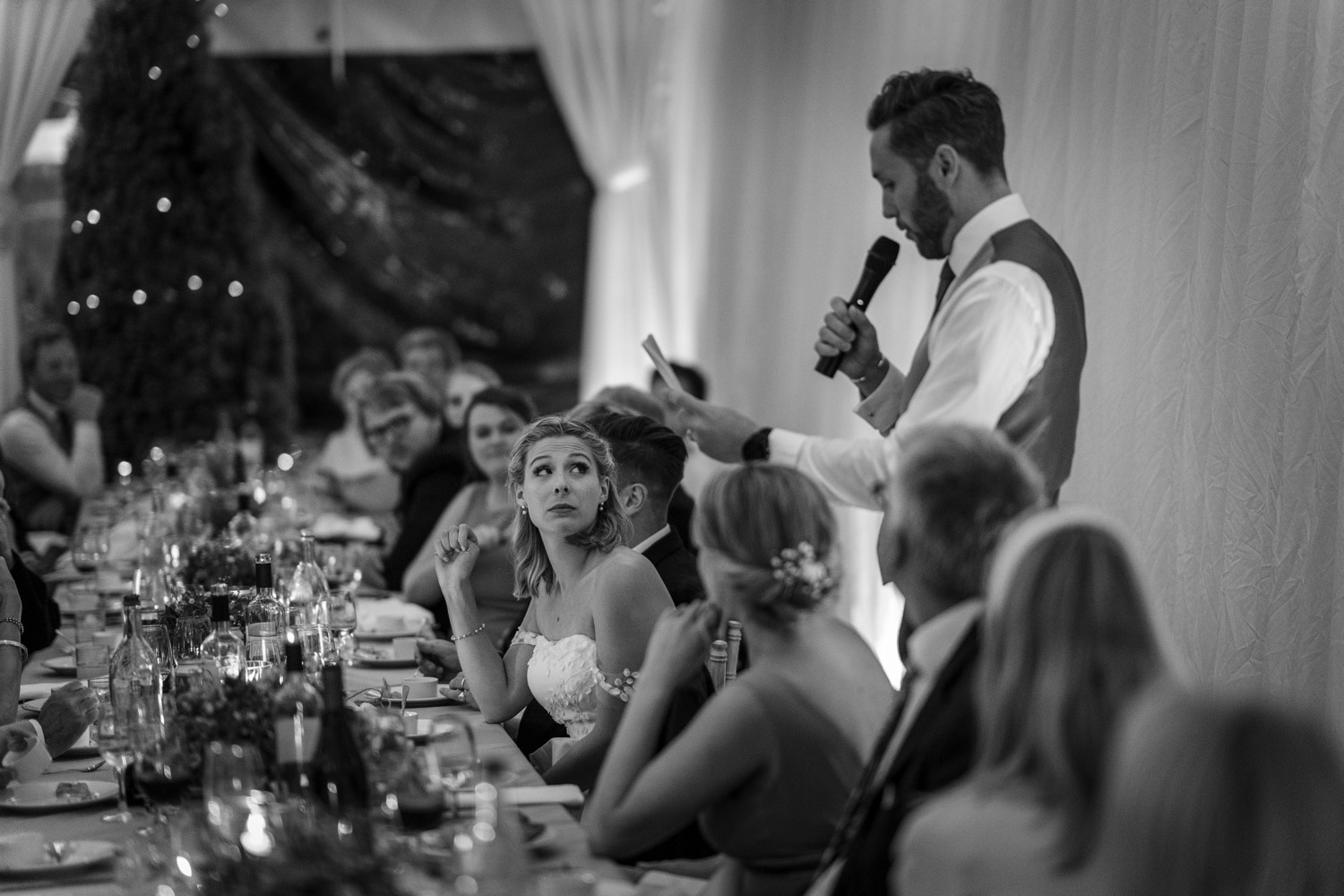 Cotswold wedding speeches