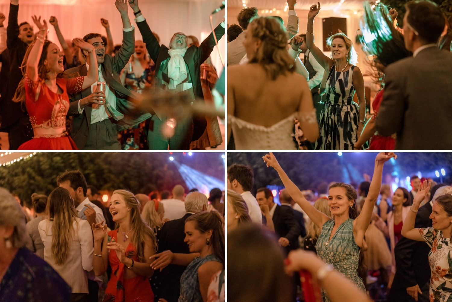 Wedding dancing in the Cotswolds
