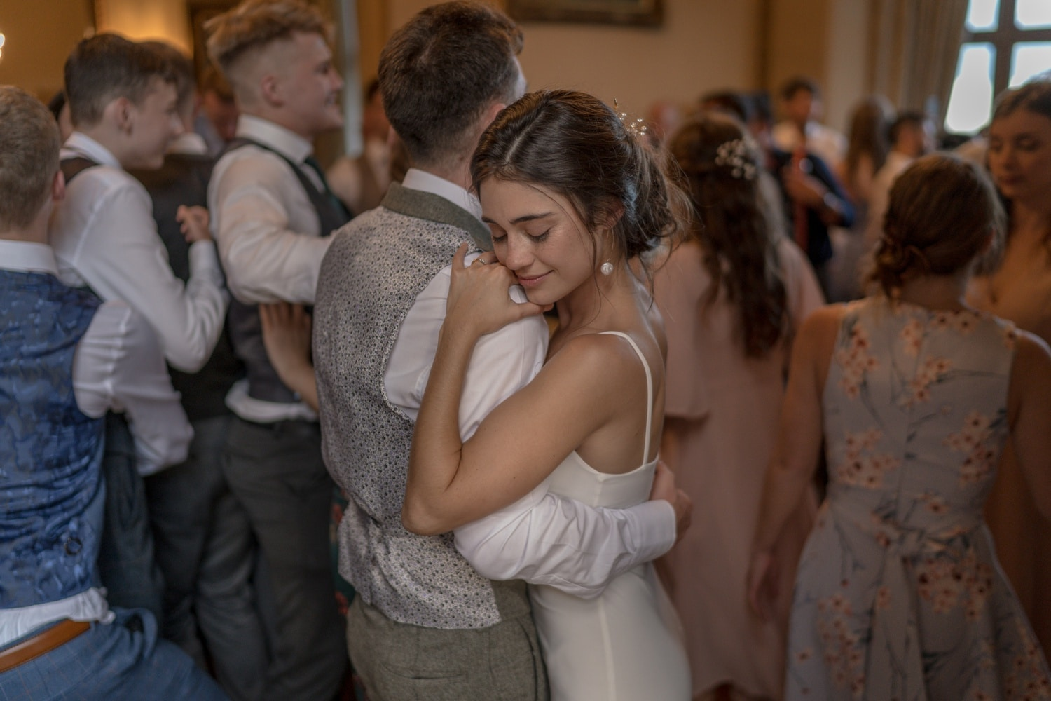 Wedding at Orchardleigh House, Somerset