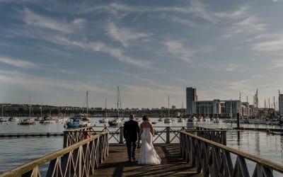 Cardiff Wedding Photography at Coal Exchange – Victoria & Nick
