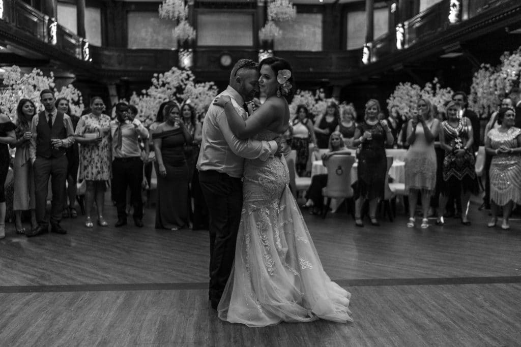 First dance at Coal Exchange