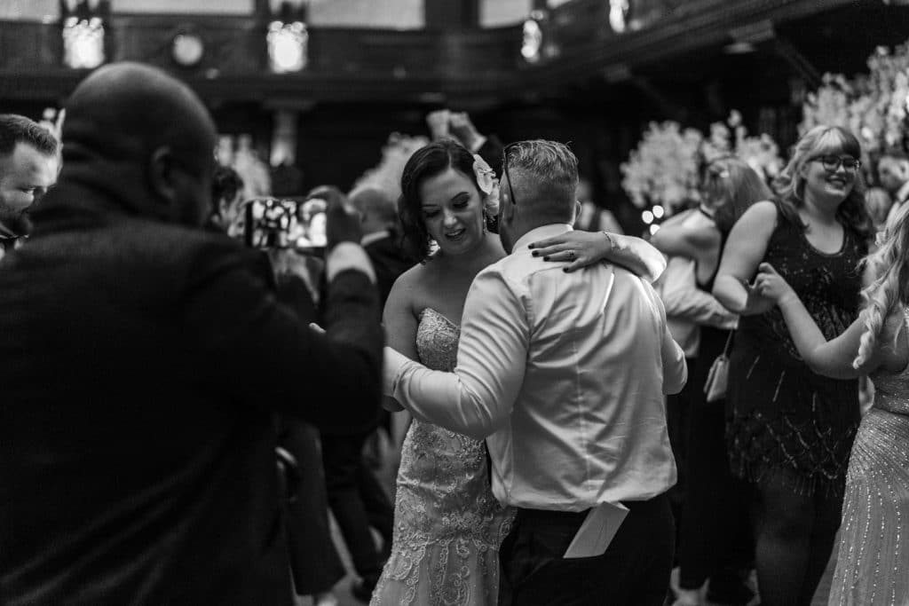 Wedding dancing at Coal Exchange