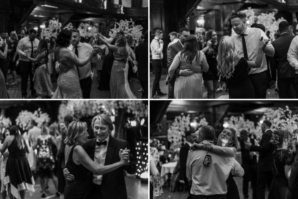 Wedding dancing at Coal Exchange