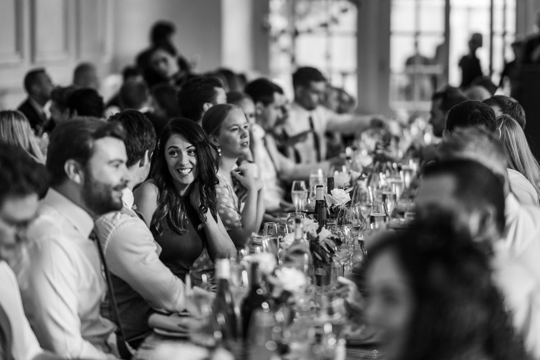 wedding reception at Euridge Manor