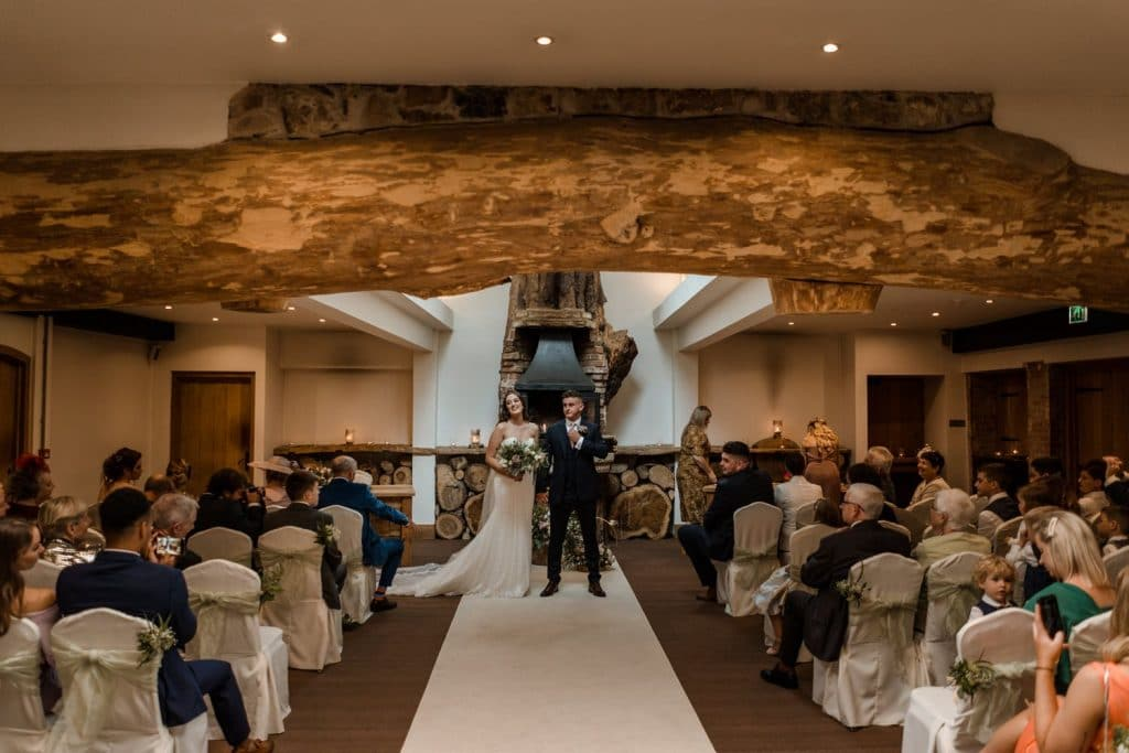Oxwich Bay Hotel marriage ceremony