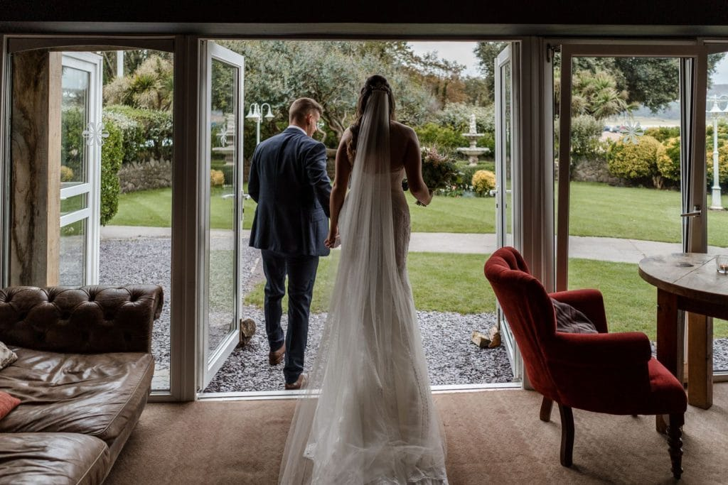 Oxwich Bay Hotel marriage ceremony