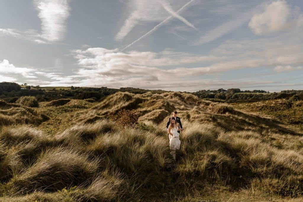 Oxwich Bay wedding photography