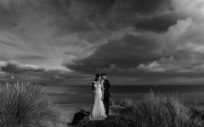 South Wales Wedding Photographer at Oxwich Bay – Livvy & Jonathan