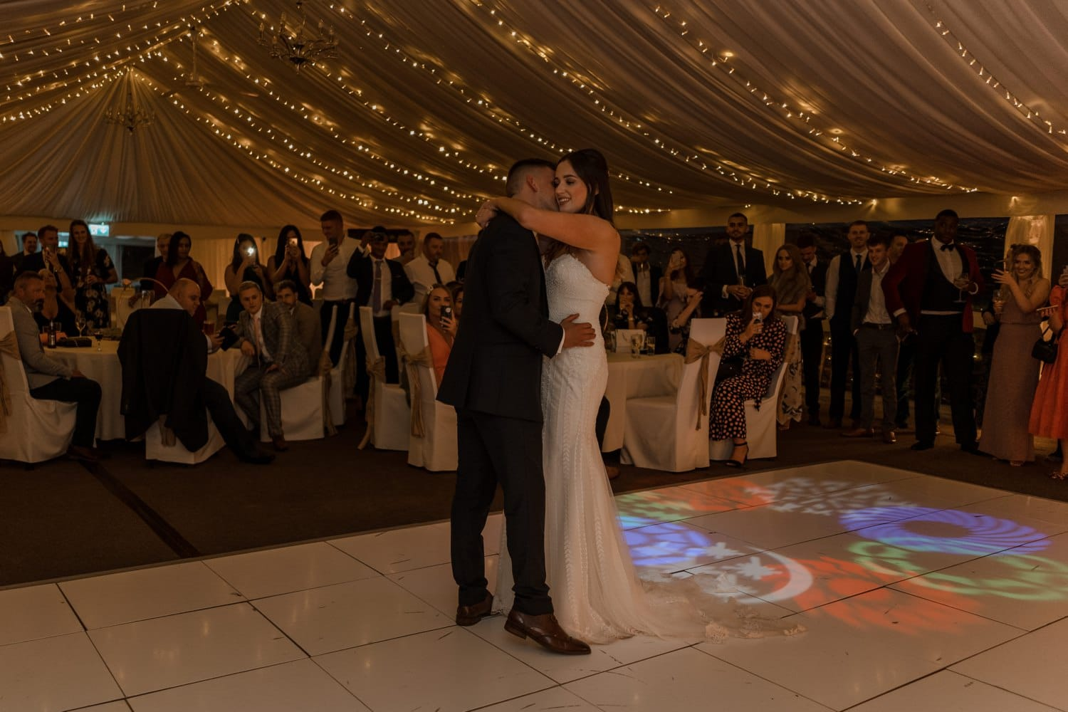 First dance at Oxwich Bay Hotel f