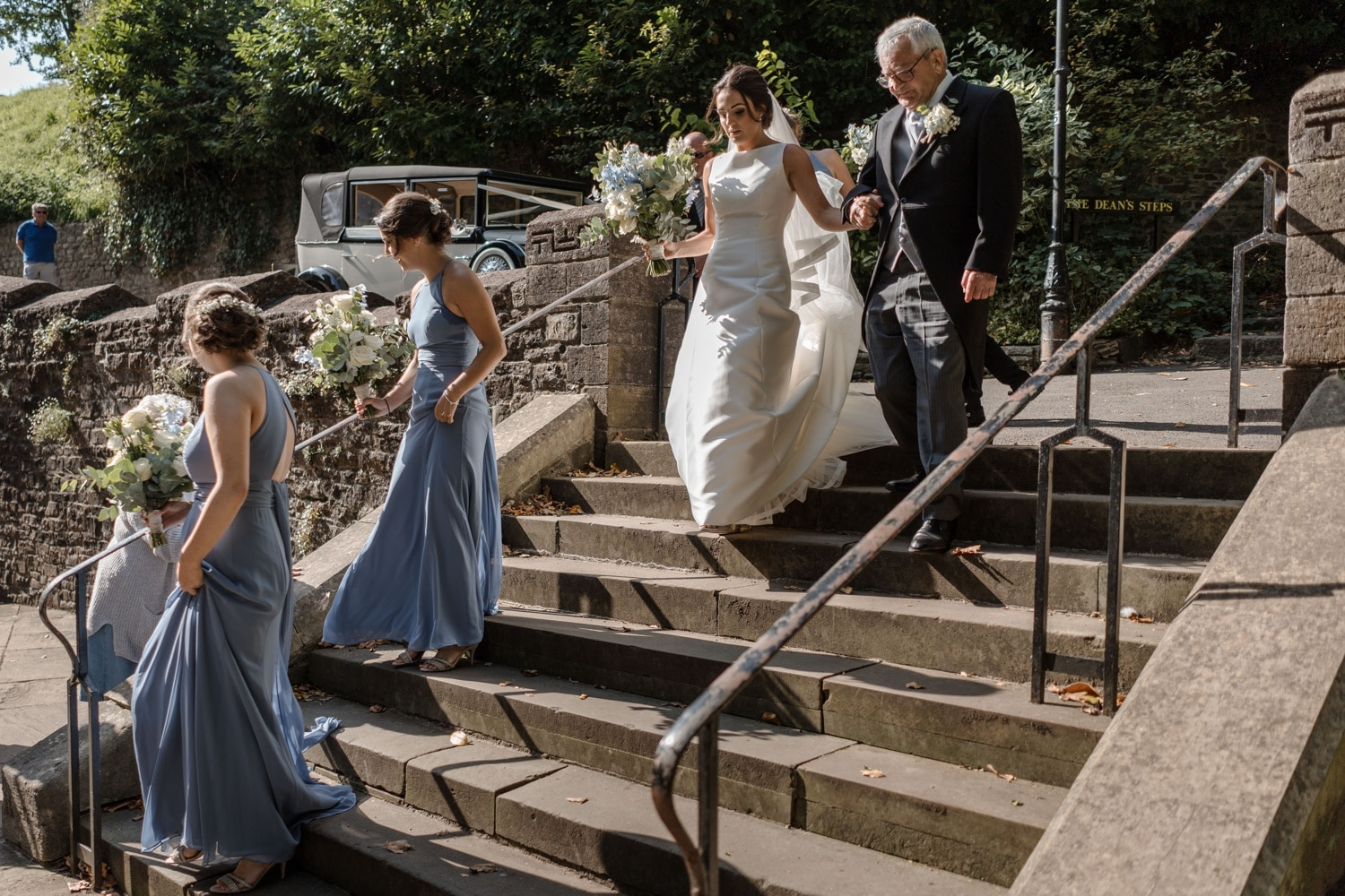 Cardiff wedding photographer at Llandaff Cathedral