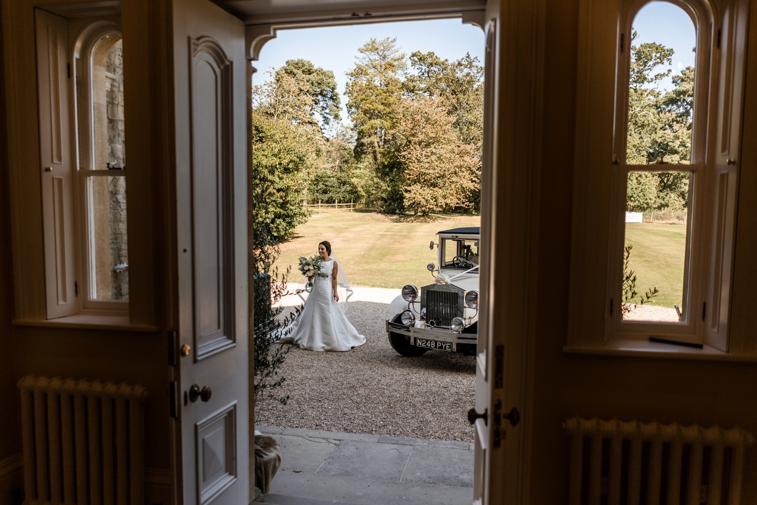 South Wales wedding photographer at St Tewdrics House