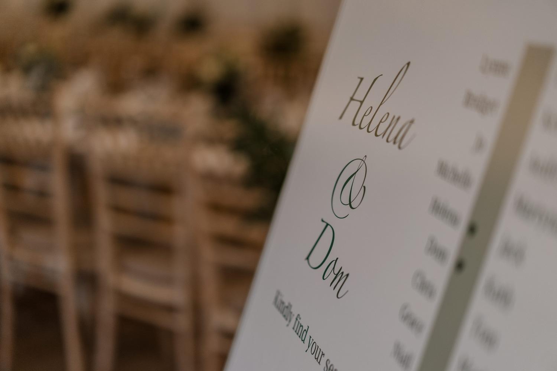 Wedding details at The Gallivant