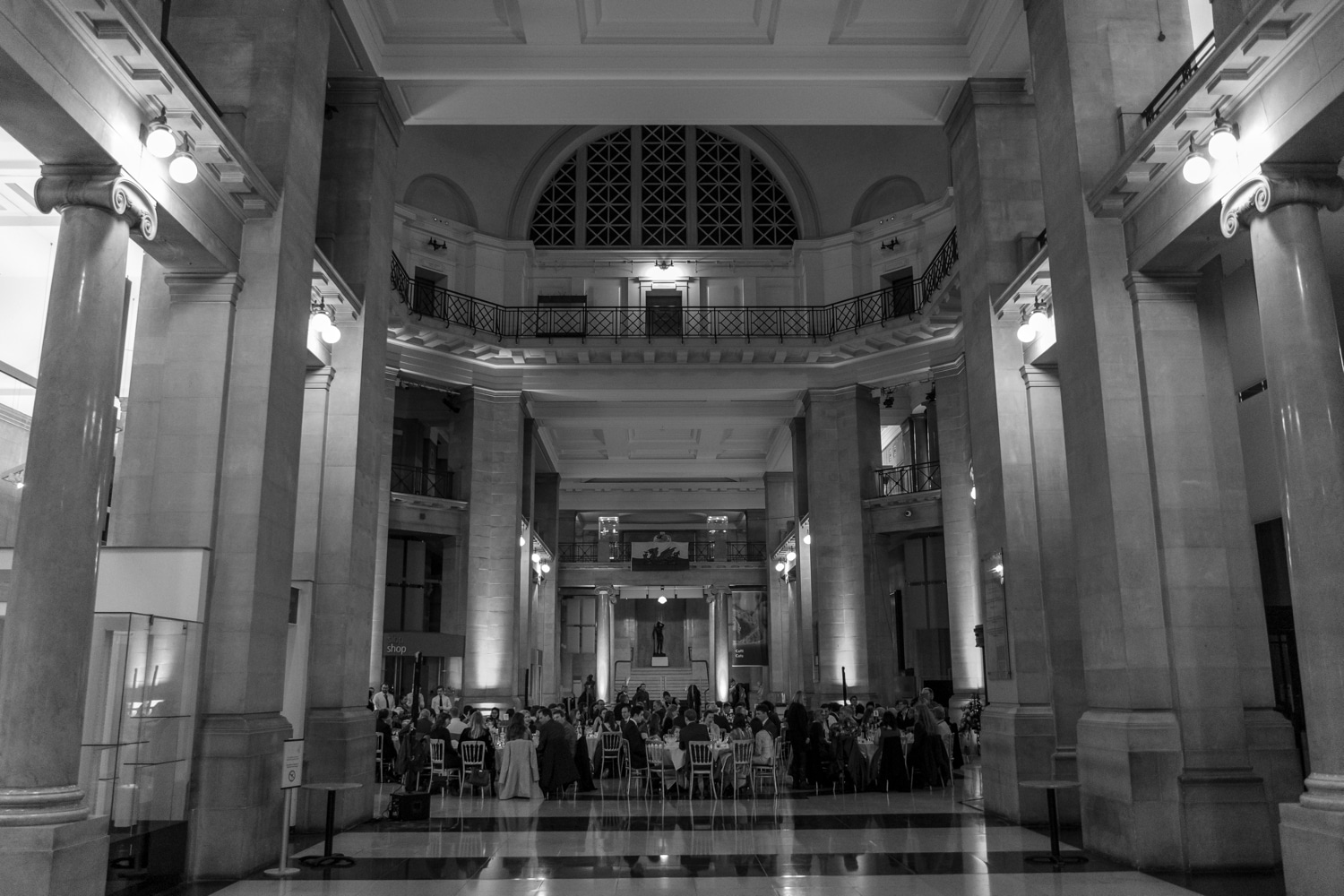Cardiff Museum wedding breakfast