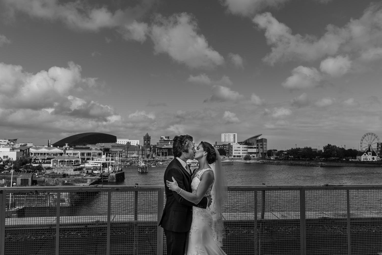 Cardiff Bay wedding photos