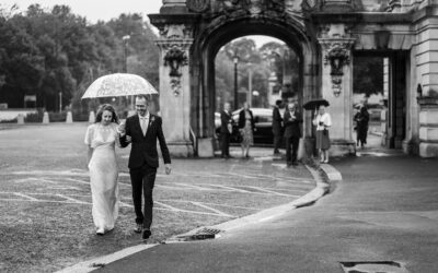 Socially Distanced Wedding at Cardiff City Hall