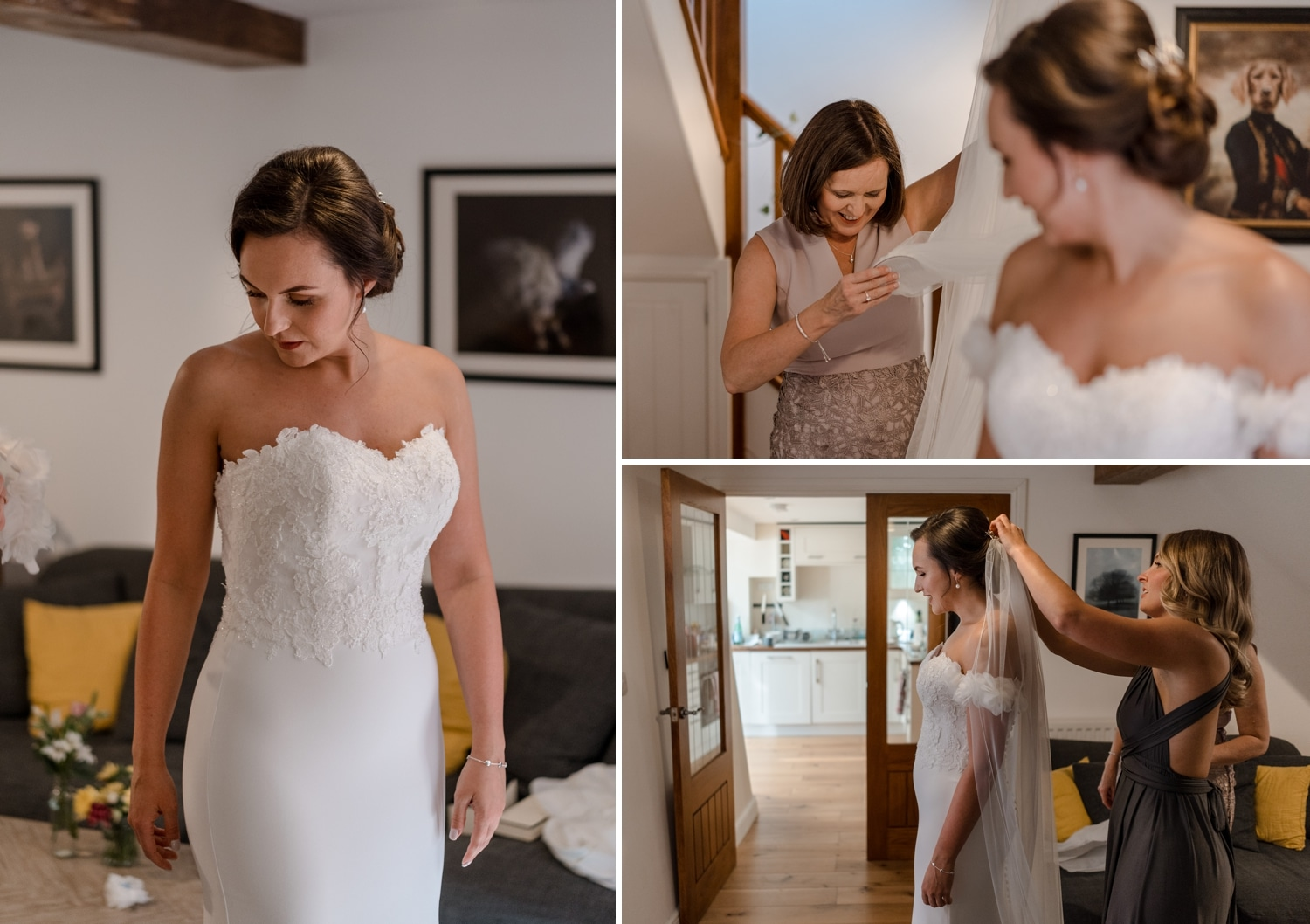 Bridal preparation in Northleach