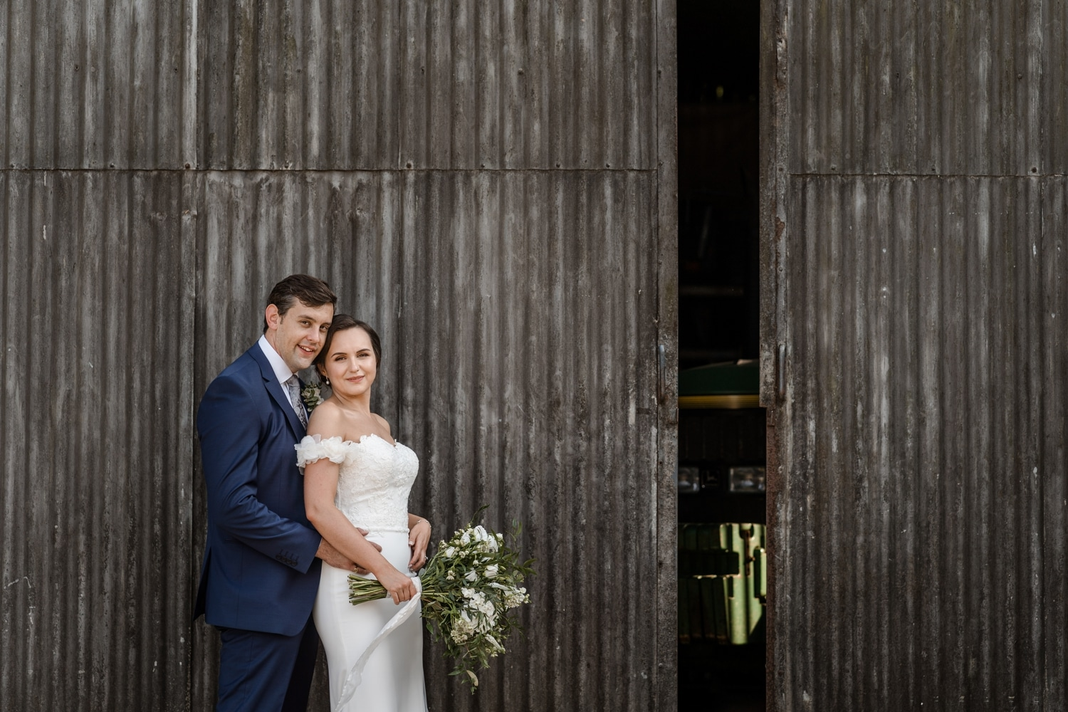 Barn at Upcote wedding photography