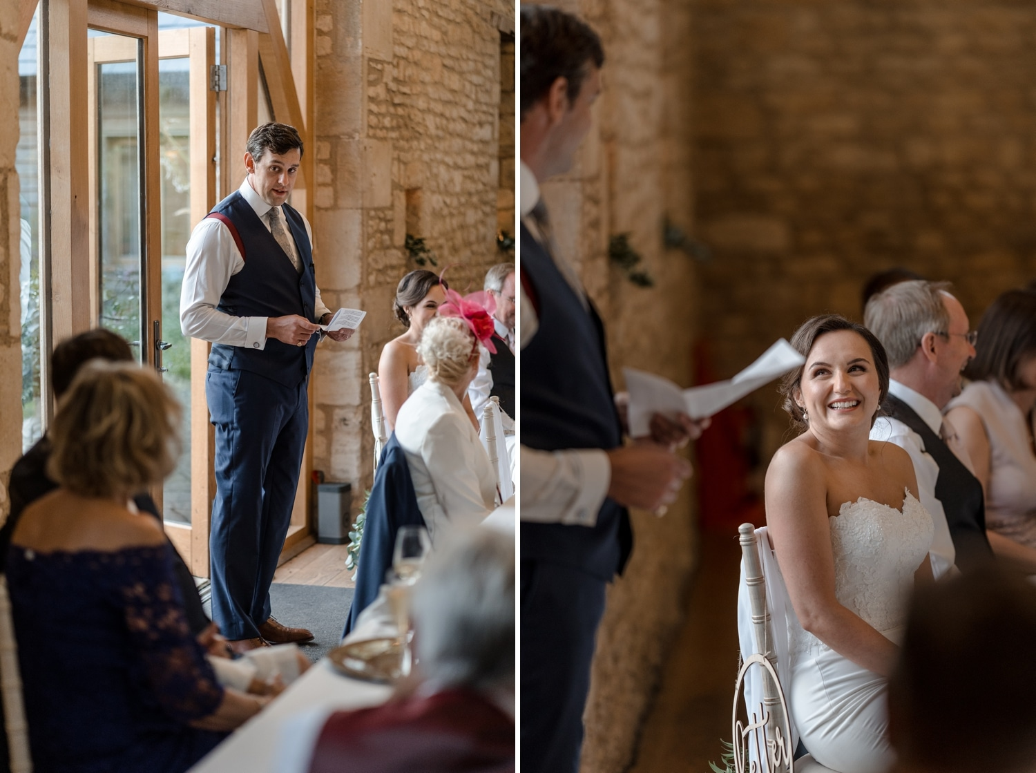 wedding speeches at upcote
