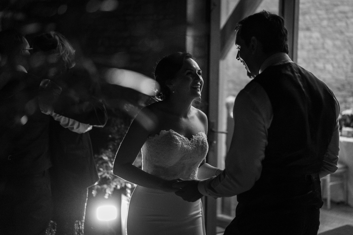 first dance at upcote barn