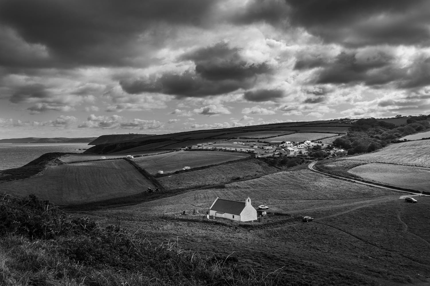 Mwnt Church, West Wales