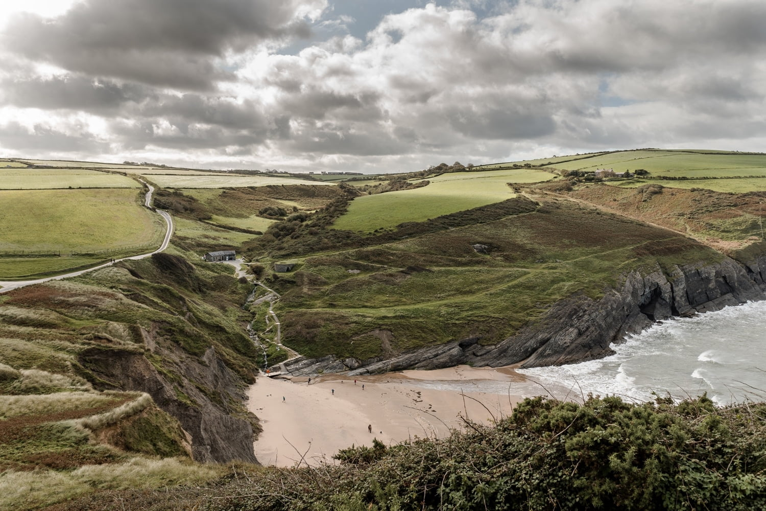 Mwnt Beach, West Wales