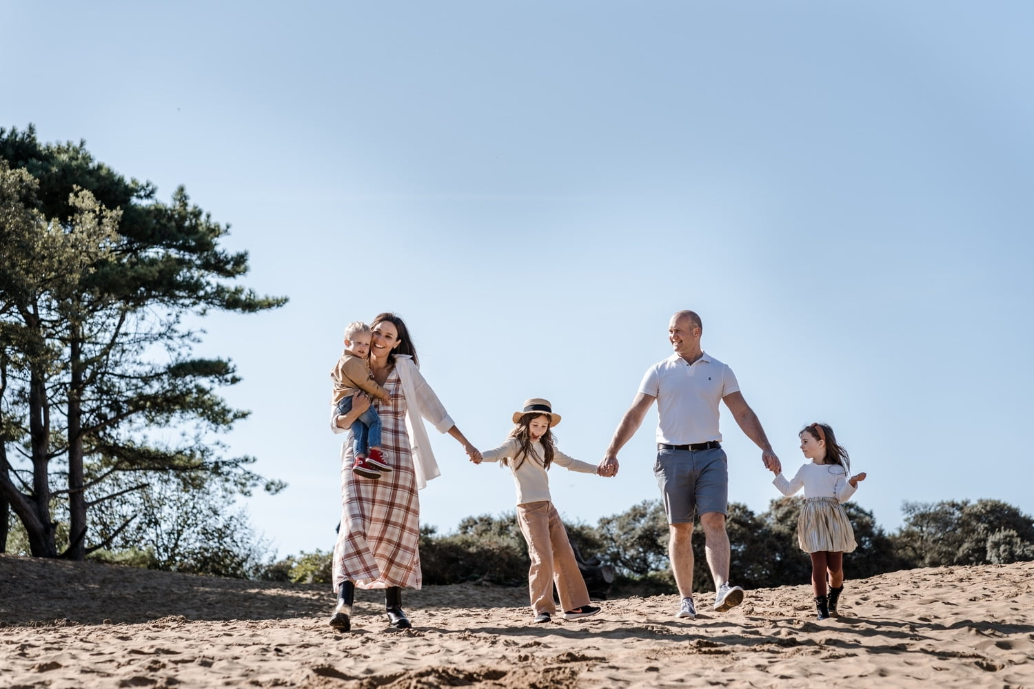 Outdoor Family Portraits in South Wales