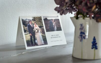 Wedding Photography Thank You Note