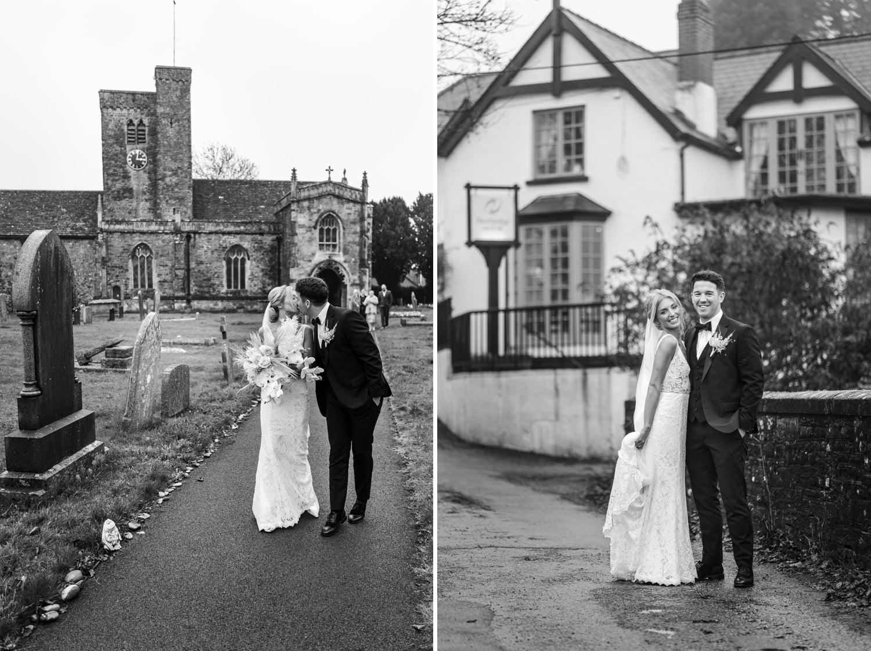 Wedding at Newbridge on Usk