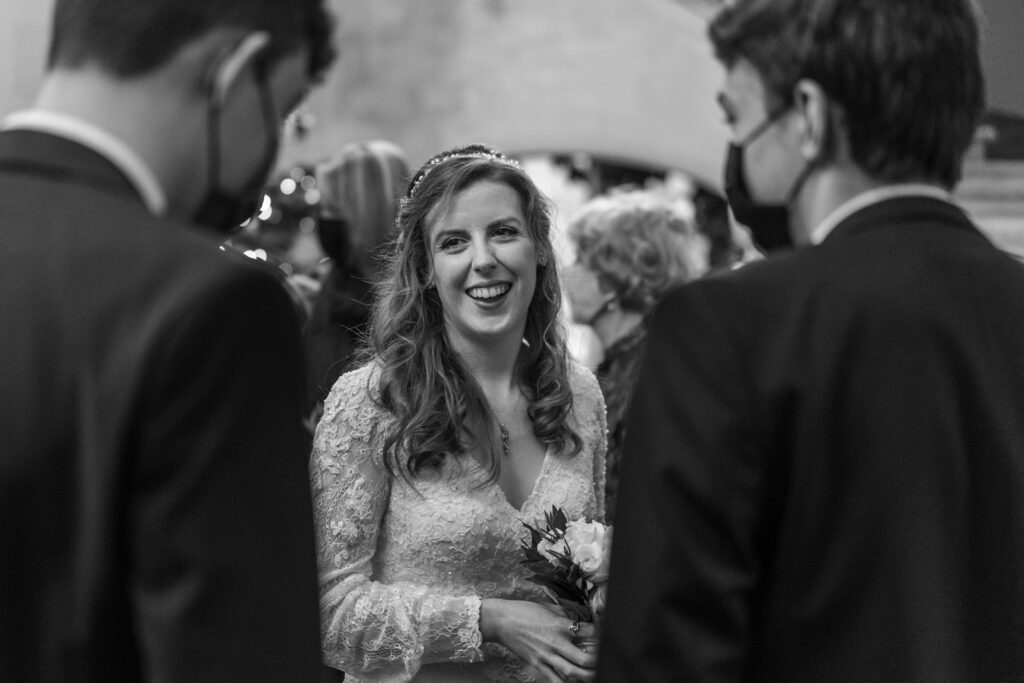 Wedding reception at Insole Court
