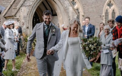 Restricted Wedding in Brecon, South Wales – Miriam & Sam