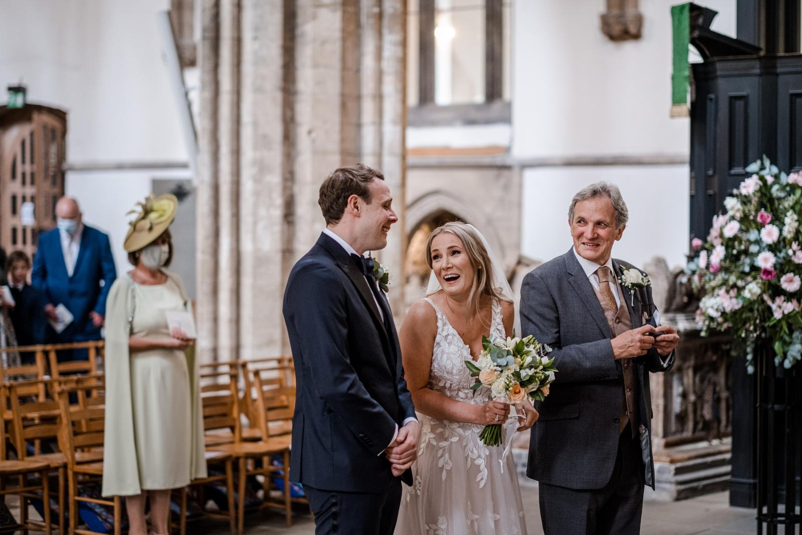 Wedding at Llandaff Cathedral