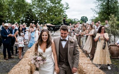 Welsh Farm Wedding – Holly & Jack