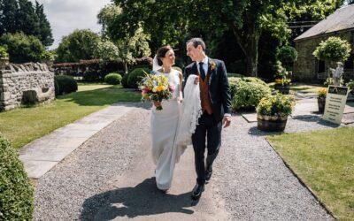 South Wales Wedding Photography at Pencoed House –  Hannah & Andy