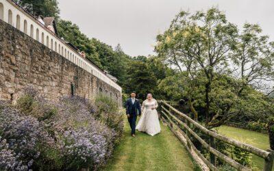 Caer Llan Wedding, South Wales – Zoe & Richard